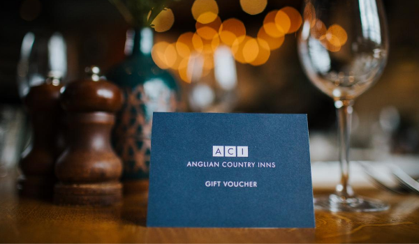 GIVE BACK WITH OUR GIFT CARDS